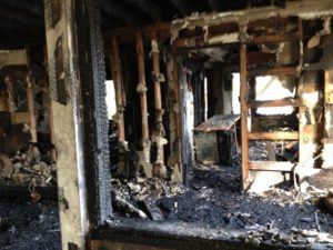 Fire and Smoke Damage restoration - Regency DRT