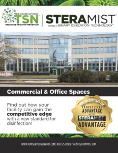 SteraMist Disinfect Commercial & Office Spaces